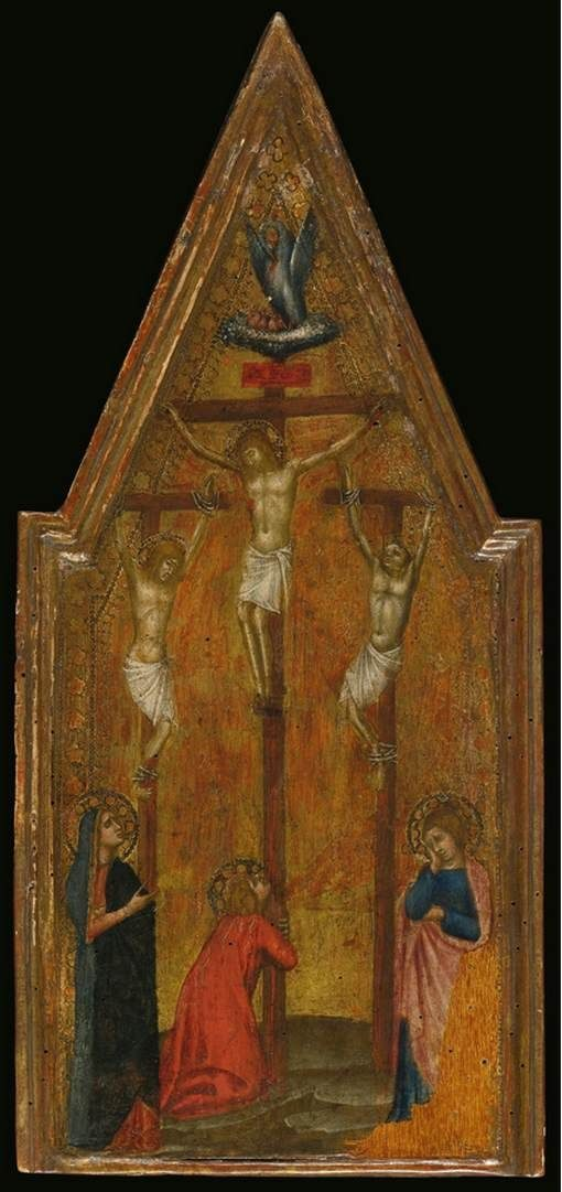 Crucifixion   Luca di TommE   Oil Painting