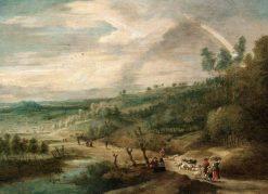 Extensive Landscape | Lucas van Uden | Oil Painting