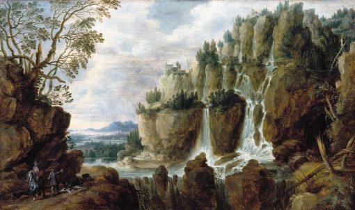Alpine Landscape | Lucas van Uden | Oil Painting