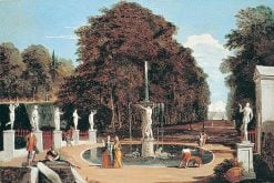 Imaginary Landscape with Fountain | Marco Ricci | Oil Painting