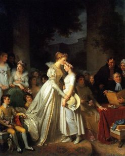 La Roserie | Marguerite GErard | Oil Painting