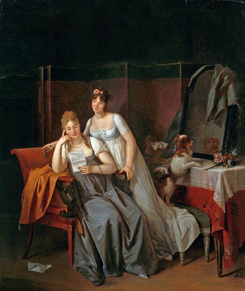 La Bonne Nouvelle | Marguerite GErard | Oil Painting