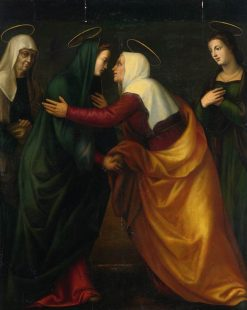 The Visitation | Mariotto Albertinelli | Oil Painting