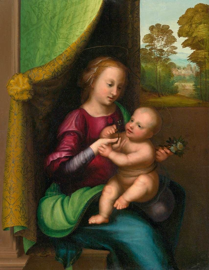 Virgin and Child | Mariotto Albertinelli | Oil Painting