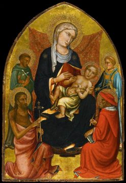 Madonna and Child with Sts John the Baptist