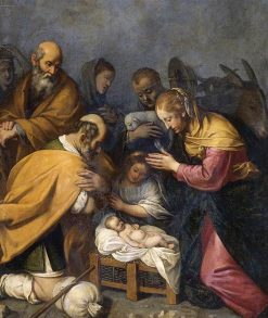 Adoration of the Shepherds | Matteo Rosselli | Oil Painting