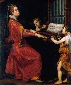 Saint Cecilia | Matteo Rosselli | Oil Painting