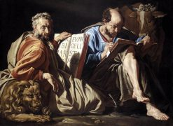 The Evangelists Saints Mark and Luke | Matthias Stomer | Oil Painting