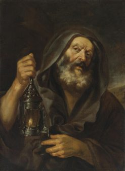 Diogenes with his Lantern