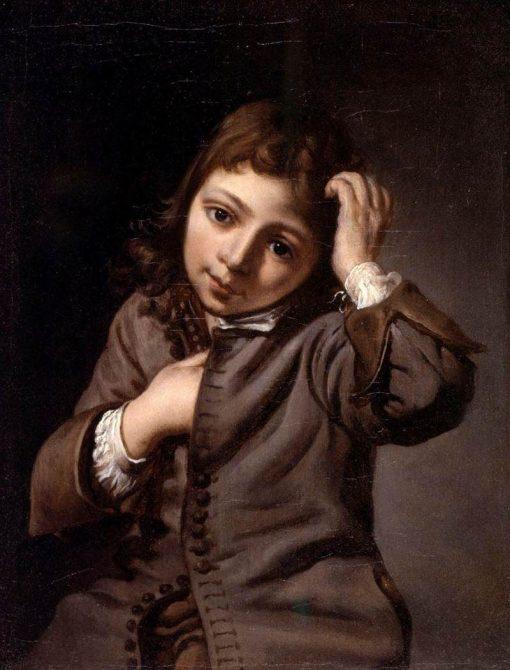 Portrait of a Boy   Michiel Sweerts   Oil Painting