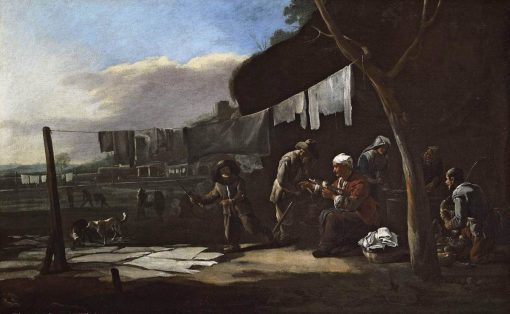 The Great Laundry Day | Michiel Sweerts | Oil Painting