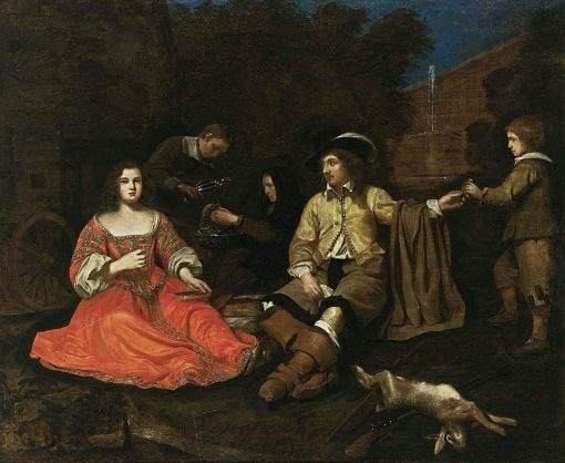 A Hunting Party Resting | Michiel Sweerts | Oil Painting
