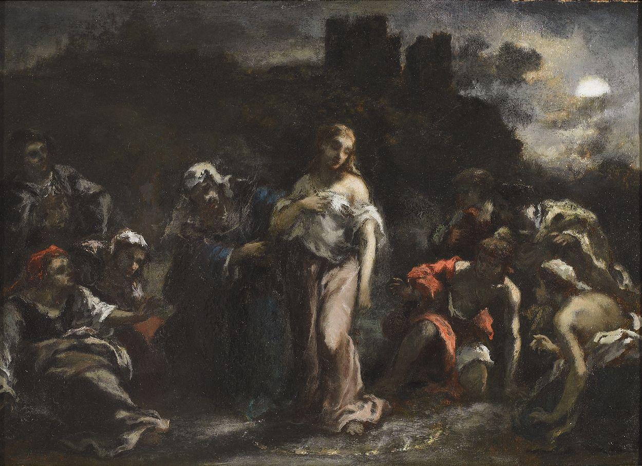 Scene d'Incantation (La Sorciere) (Incantation scene
