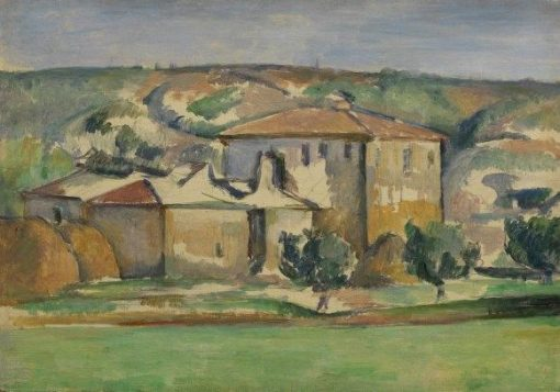Provencal Houses | Paul CEzanne | Oil Painting