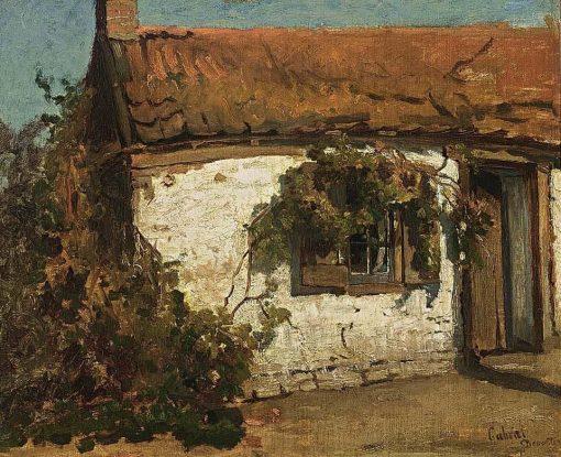 A Sunlit Farm | Paul Joseph Constantin Gabriel | Oil Painting