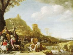 God Appearing to Abraham at Sichem | Paulus Potter | Oil Painting