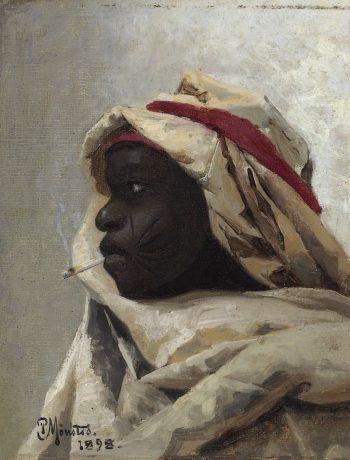 The Smoking Moor   Peder Mork Mønsted   Oil Painting