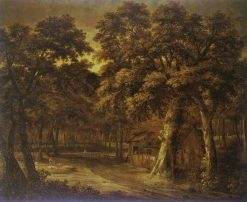 Landscape in Woodland   Philips Koninck   Oil Painting