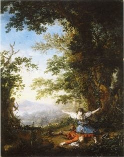 Pyramus and Thisbe | Philips Wouwerman | Oil Painting