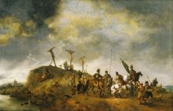 Calvary | Philips Wouwerman | Oil Painting