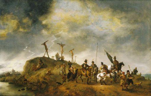 Calvary | Philips Wouwerman | Oil Painting