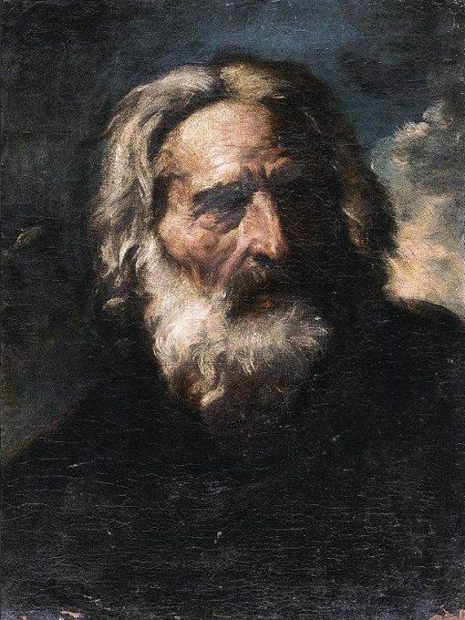 Portrait of a Bearded Man | Pier Francesco Mola | Oil Painting
