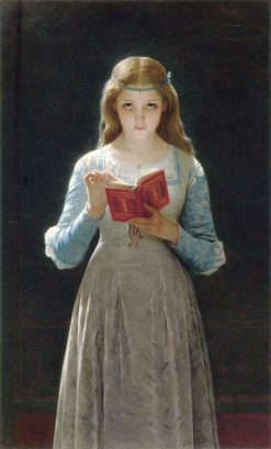 Ophelia(also known as A Pause for Thought) | Pierre Auguste Cot | Oil Painting