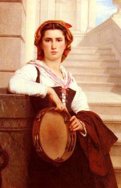 The Bohemian(also known as La bohémienne) | Pierre Auguste Cot | Oil Painting