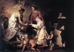 The Marriage of St Catherine | Pierre Subleyras | Oil Painting