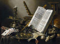 Vanitas: Still Life   Pieter Claesz   Oil Painting