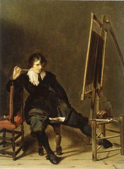 Smoking Painter   Pieter Codde   Oil Painting