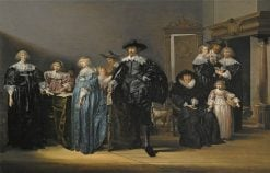 Portrait of the Family Twent in an Interior   Pieter Codde   Oil Painting
