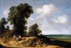 Landscape of Dunes | Pieter de Molijn | Oil Painting