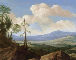 Panoramic Hilly Landscape | Pieter de Molijn | Oil Painting