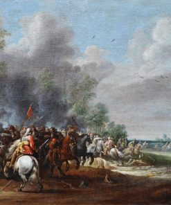 Cavalry Battle Scene | Pieter Meulener | Oil Painting