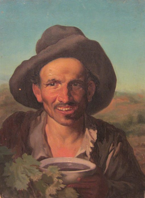Bust of a Peasant | Pio Ricci | Oil Painting