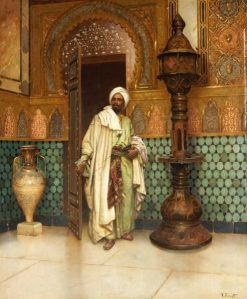 Arab in His Palace | Rudolf Ernst | Oil Painting