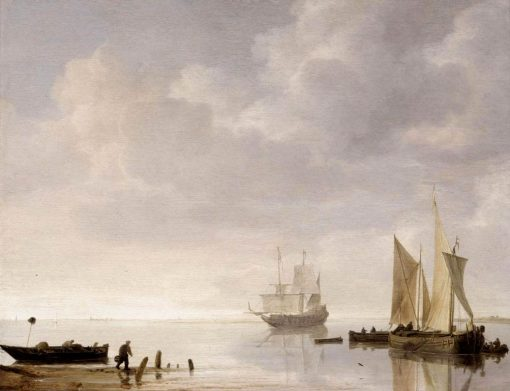 Coastal Scene | Simon de Vlieger | Oil Painting