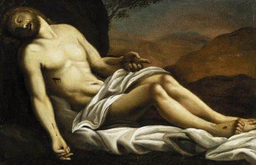 The Dead Christ | Sisto Badalocchio | Oil Painting