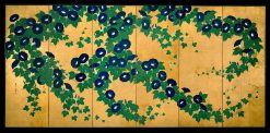 Morning Glories (1 of 2) | Suzuki Kiitsu | Oil Painting