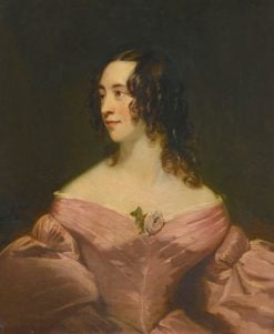 Portrait of a Lady in Pink | Thomas Phillips | Oil Painting