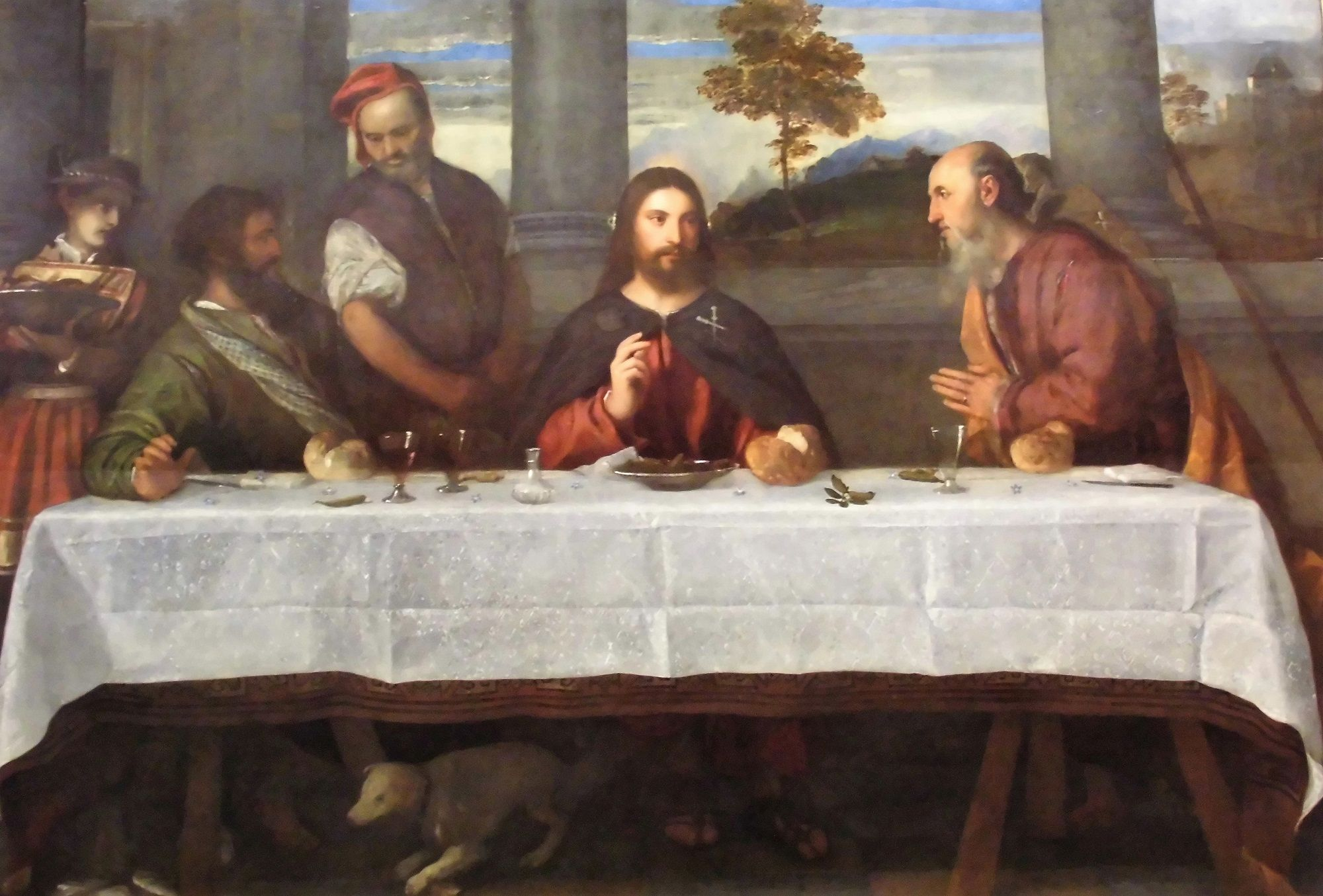 Supper at Emmaus | Titian | Oil Painting