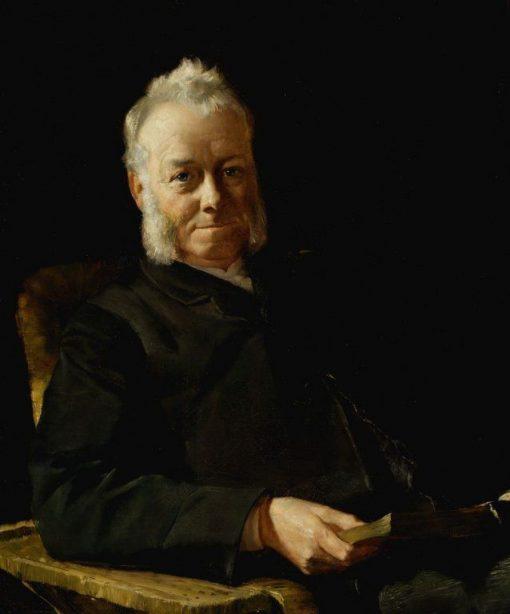 Caleb Williamson Esq   Tom Roberts   Oil Painting