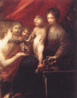 The Virgin of the Compote Dish | Valerio Castello | Oil Painting
