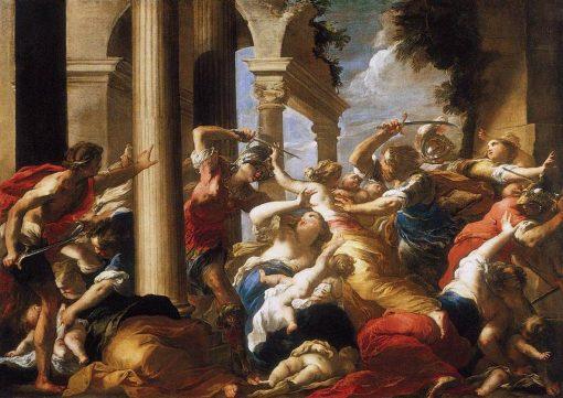 The Massacre of the Innocents | Valerio Castello | Oil Painting
