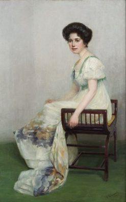 Retrato de dama | Vicente Palmaroli y Gonzalez | Oil Painting