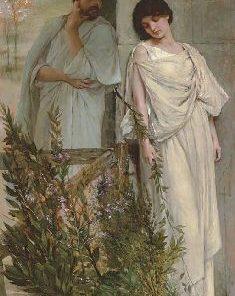 A Secret Love   Vicente Palmaroli y Gonzalez   Oil Painting