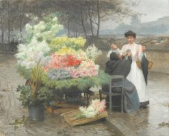 The Flower Seller on the Quays