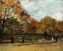 View of a Park in Paris | Vincent van Gogh | Oil Painting