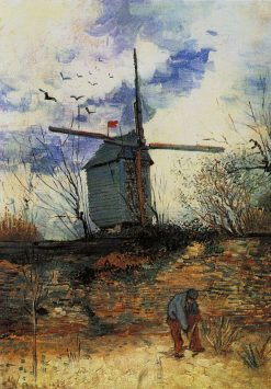 Windmill on Montmartre | Vincent van Gogh | Oil Painting